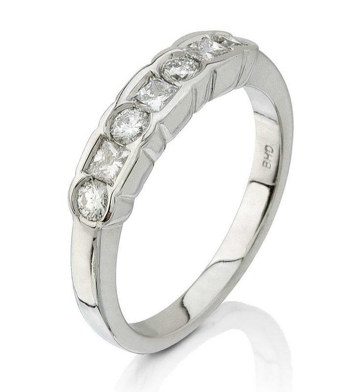 Platinum .51ct Diamond Ring