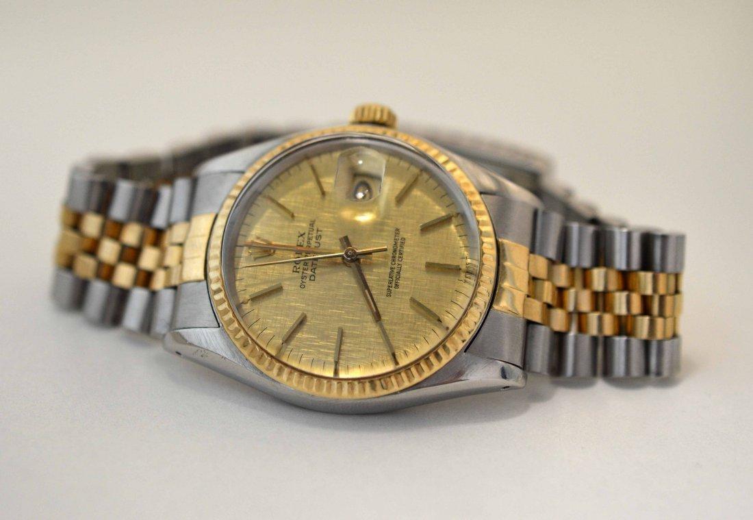 ROLEX 18KT & SS Two-Tone DayDay Perpetual Wristwatch