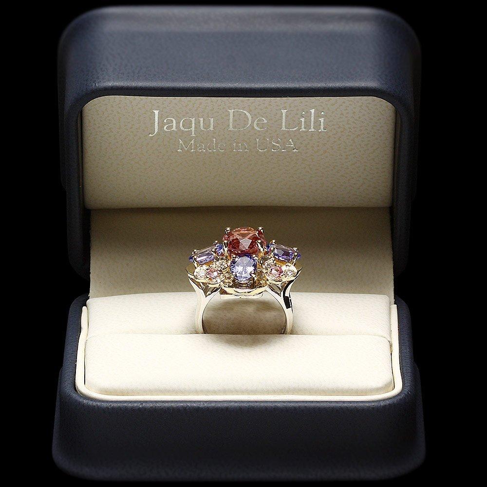 14k Gold 3.00ct Spinel 0.50ct Diamond Ring - 5