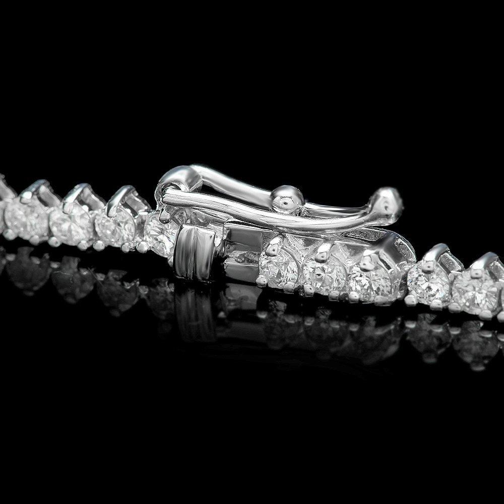 White Gold 9.30ct Diamond Necklace - 3