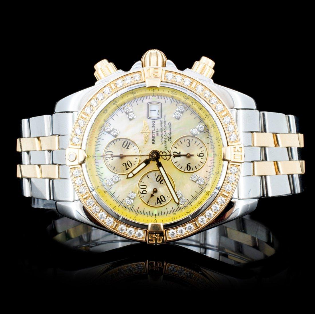 Breitling Super Avenger Diamond Men's Watch