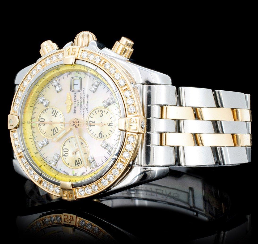 Breitling Super Avenger Diamond Men's Watch - 2