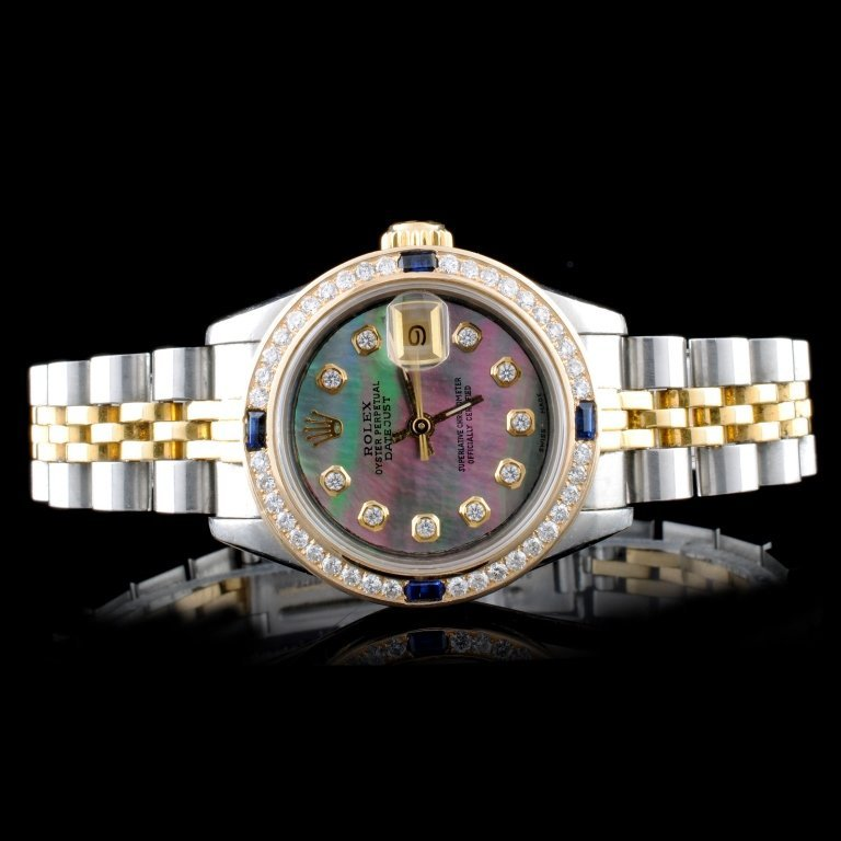 Rolex DateJust Perpetual Ladies Diamond Wristwatch
