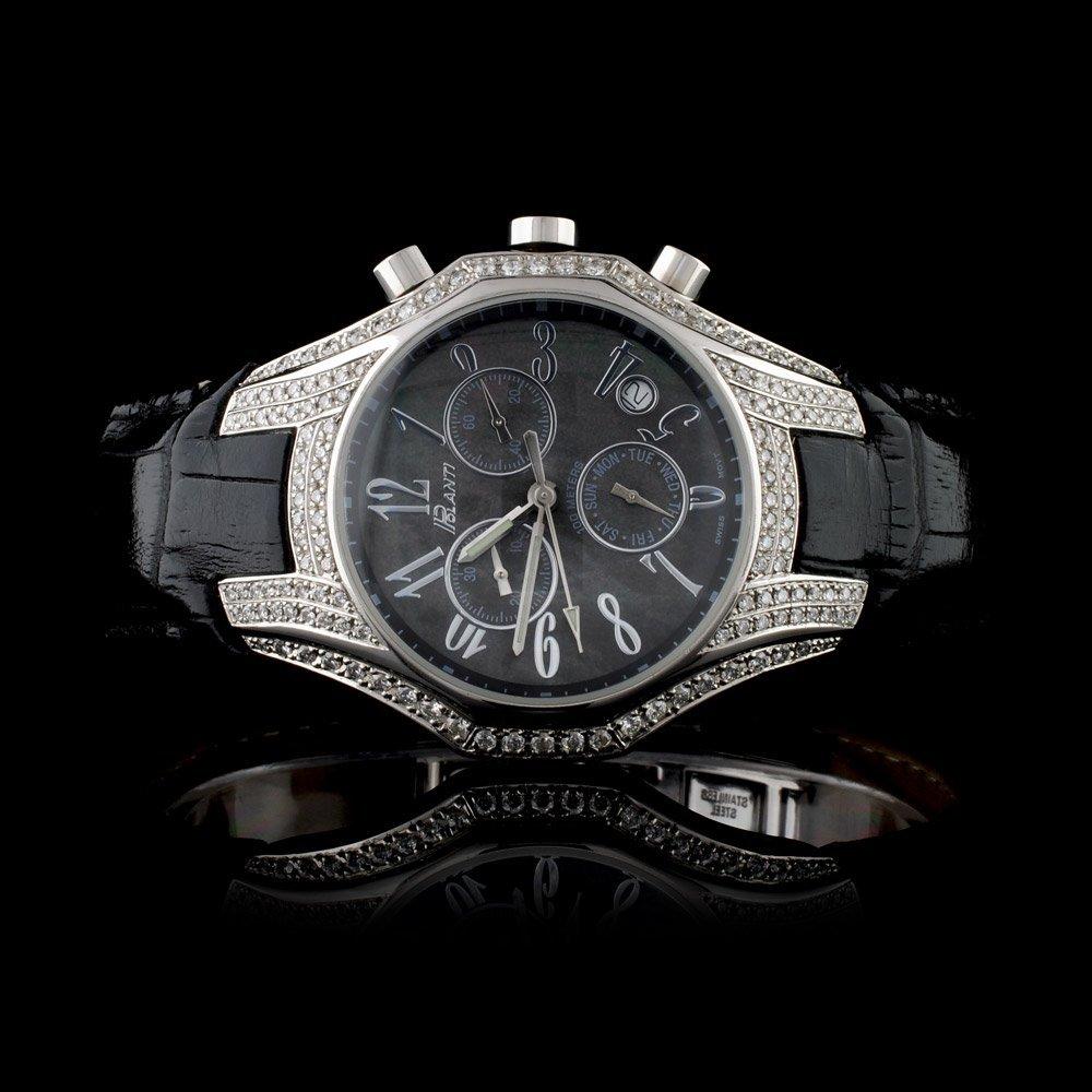 Polanti SS All Season Diamond Wristwatch