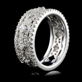 18k White Gold 1.03ct Diamond Ring