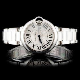 Montre Ballon Bleu De Cartier Ss Watch