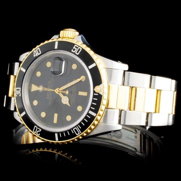 Rolex Two-Tone Submariner 40MM Wristwatch - 2