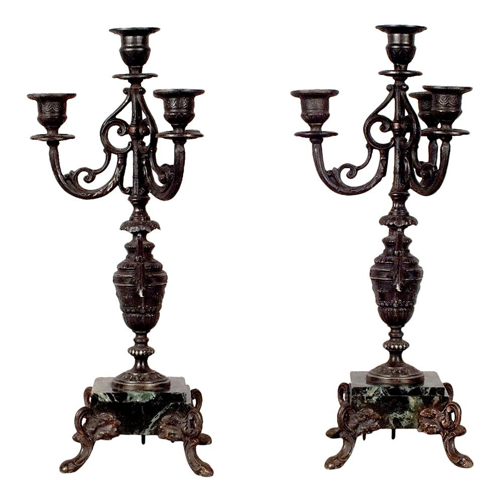 Louis XVI Style 1910's Candelabras