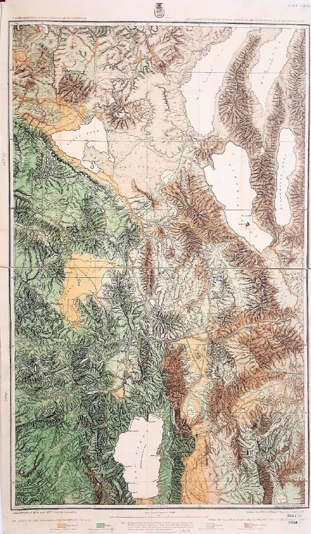 A Rare Topographical Land Classification Map of Parts