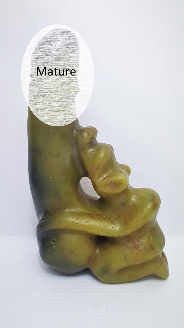 Large Hongshan Hemo Jade Phallic Fertility Statue