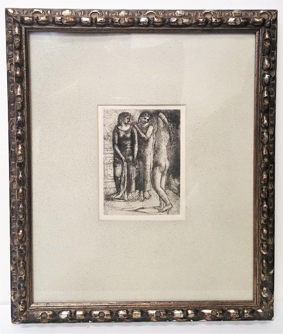 The Three Graces book plate by Pablo Picasso 1960's