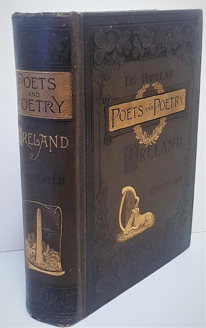 1886 Book The Popular Poets and Poetry of Ireland