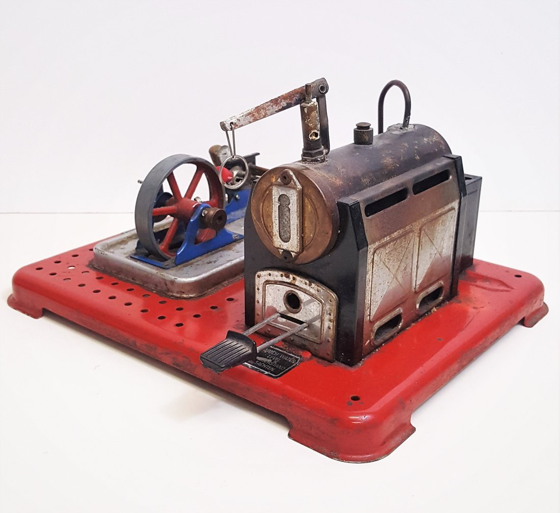A rare vintage mid-century model Mamod Steam Engine