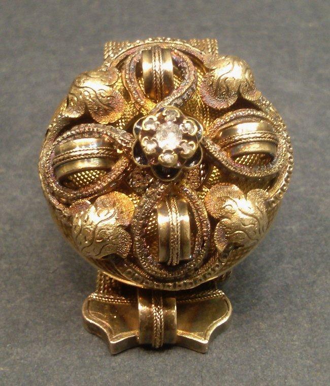 1019A: Early Victorian Buckle Bracelet