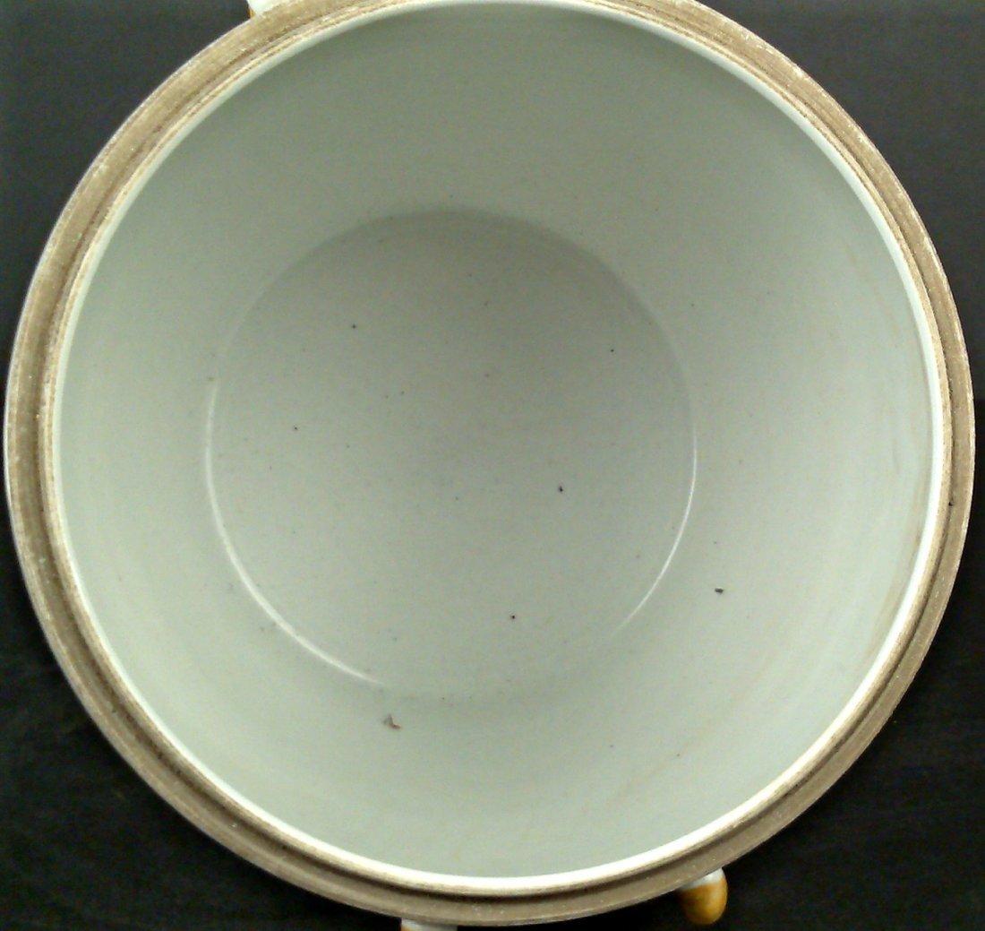 Porcelain Famille Rose Jar w/ Lid - 6