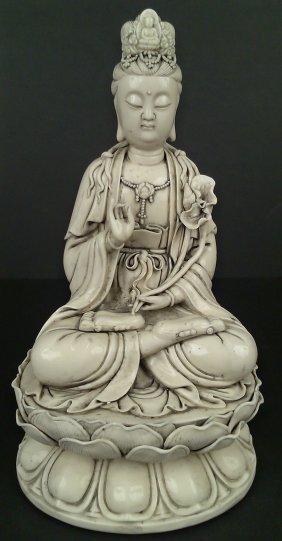 Porcelain Blanc De Chine Quan Yin