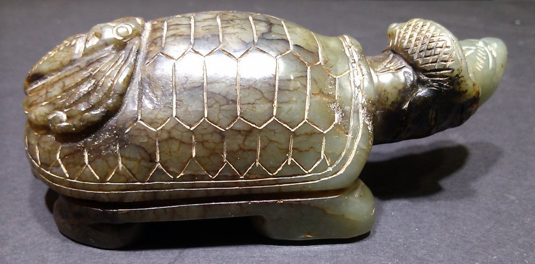Old Jade Turtle and Fish - 2