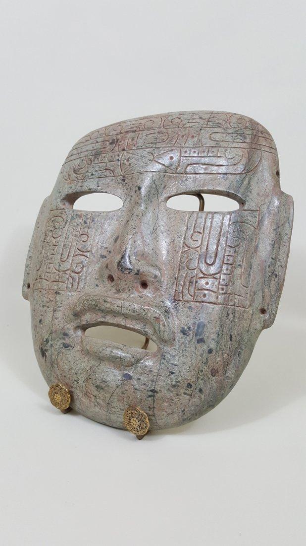 A Ritual Stone Mask of Teotihuacan