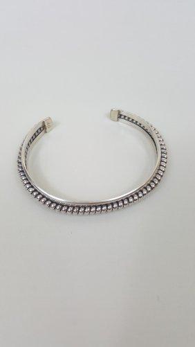 A Native American Navajo Indian Silver Cuff Bracelet-