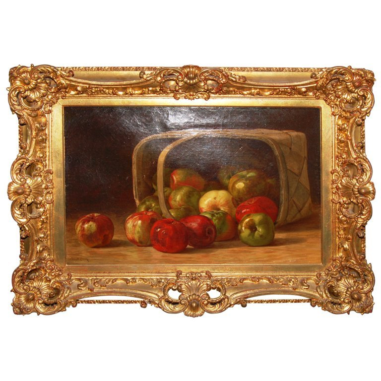 William Chase Still Life Oil Painting