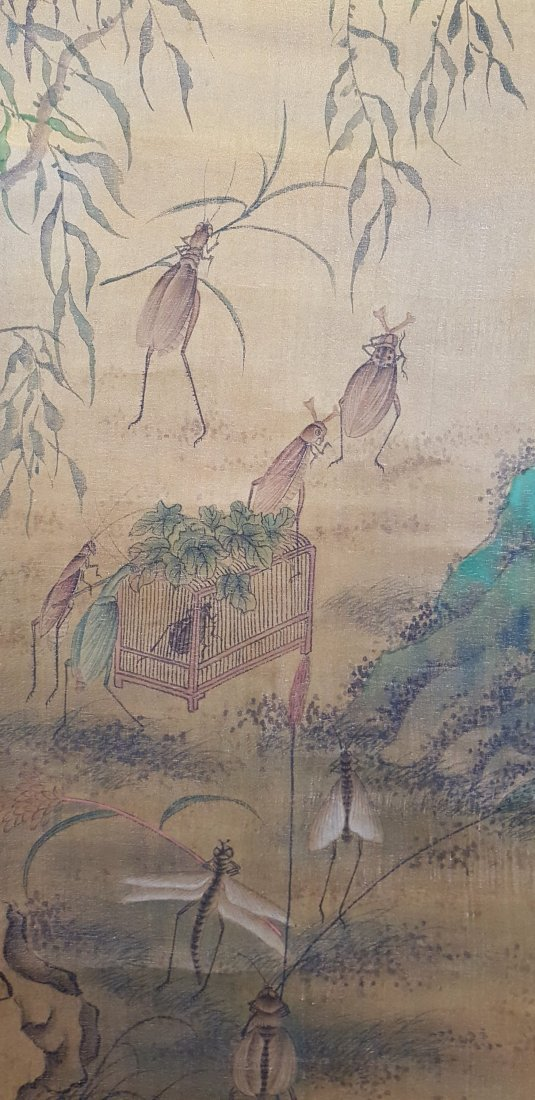 An Original Chinese Scroll Watercolor Painting