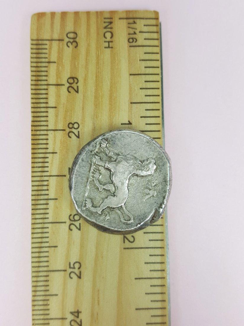 An Ancient Babylonian Silver Coin Index, Mazaeus- - 4