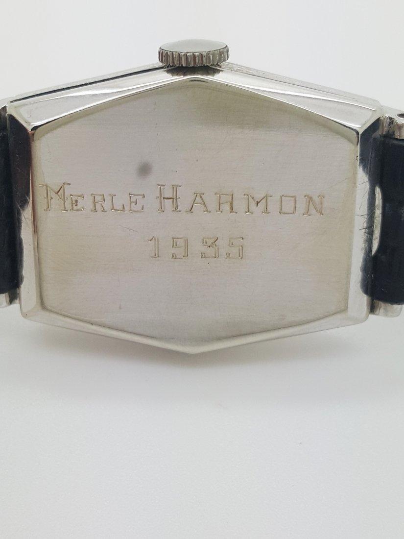 A vintage Gruen Precision gold filled manual wrist - 3
