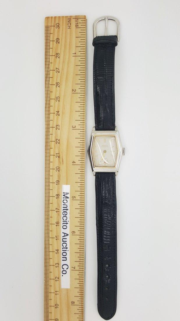 A vintage Gruen Precision gold filled manual wrist - 5