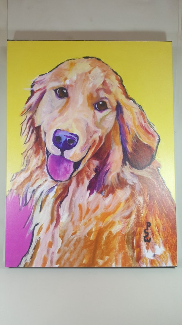 Molly by Pat Saunders-White Gallery Wrapped Canvas Wall