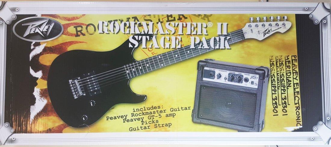 Rockmaster II Stage Pack Guitar & Amp