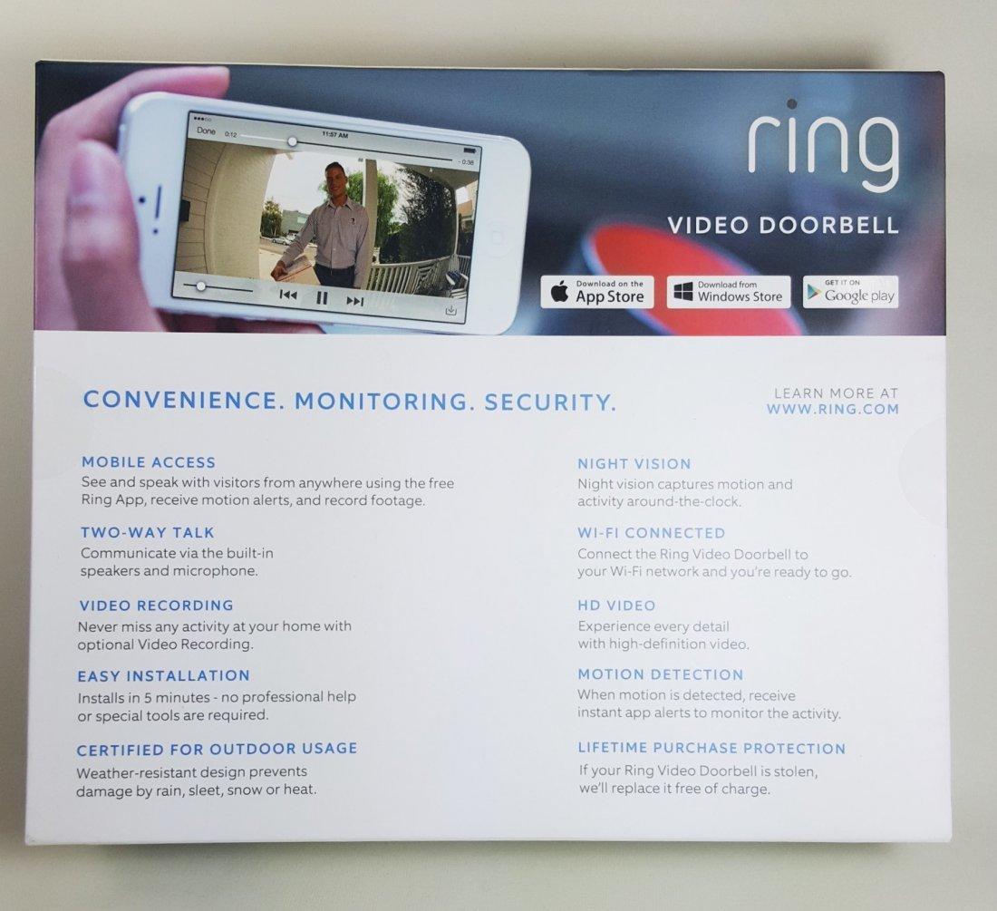 Ring Video Doorbell $199 - 2