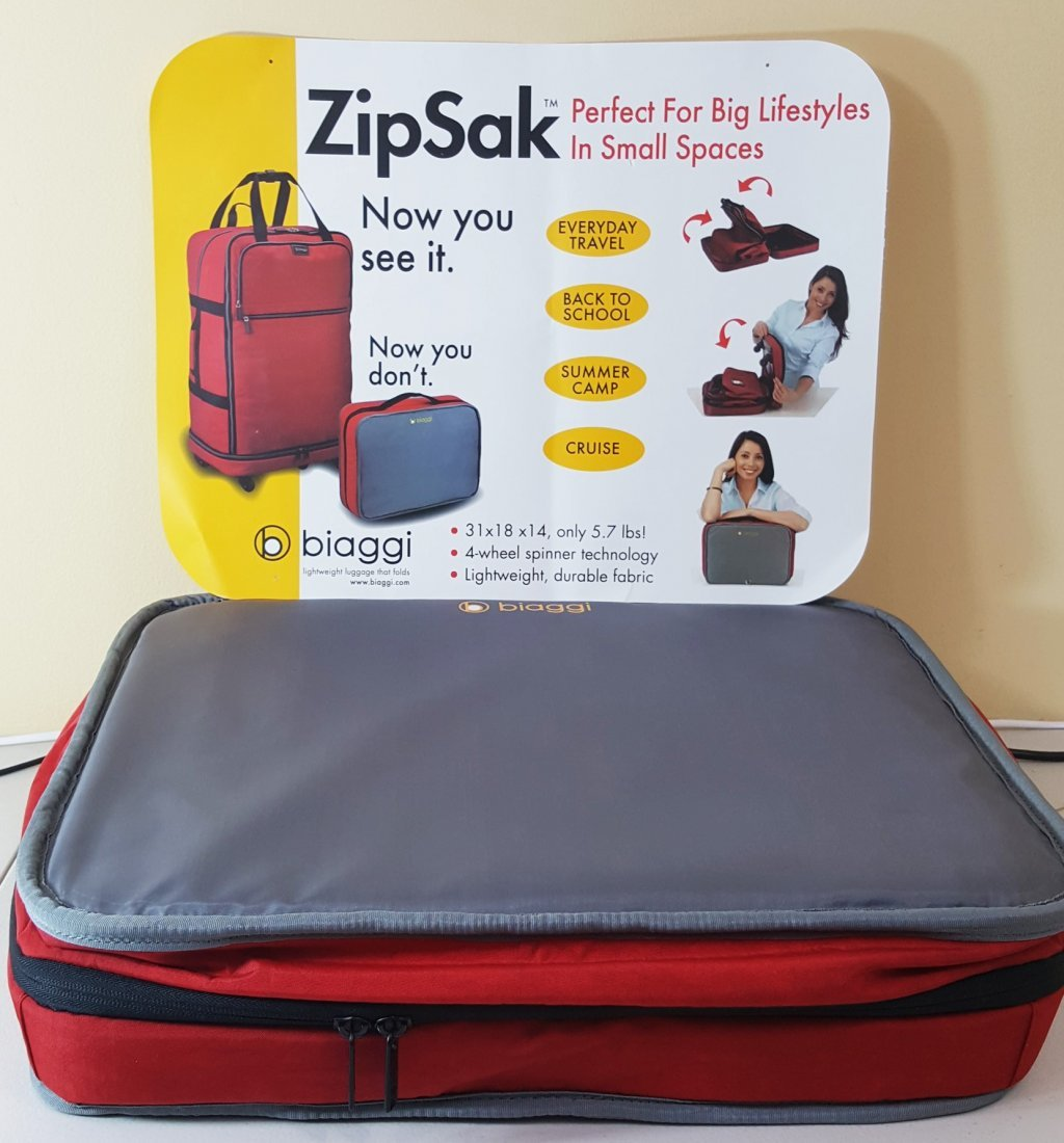 Zip Sak Biaggi Lightweight Folding Luggage