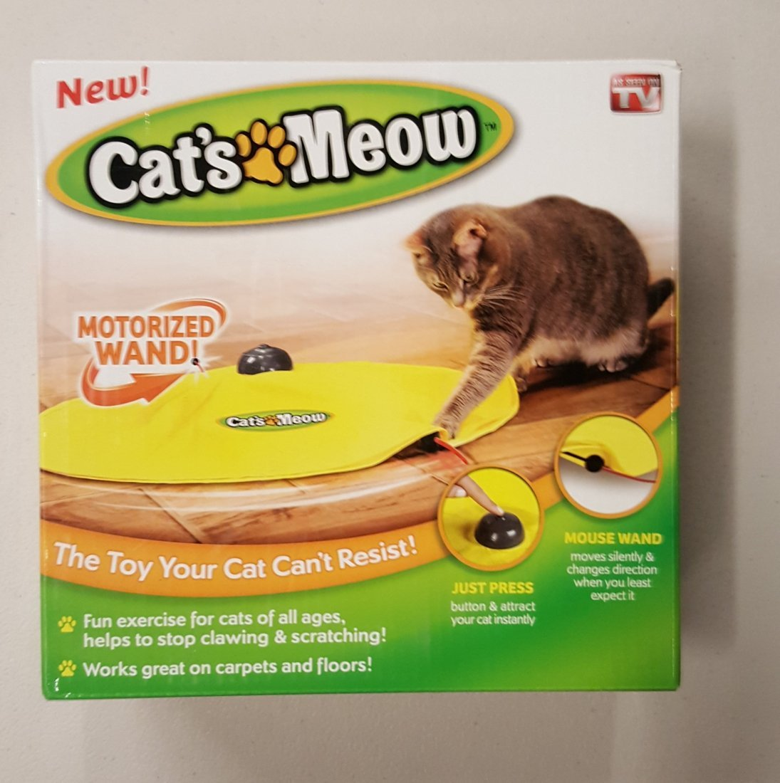 Cats Meow Toy