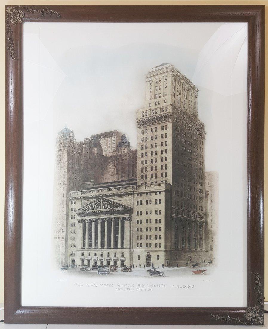 New York Stock Exchange Print