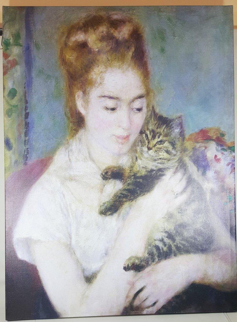 Renior Lady with Cat
