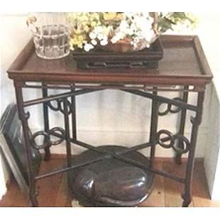 Chinese hardwood tea table