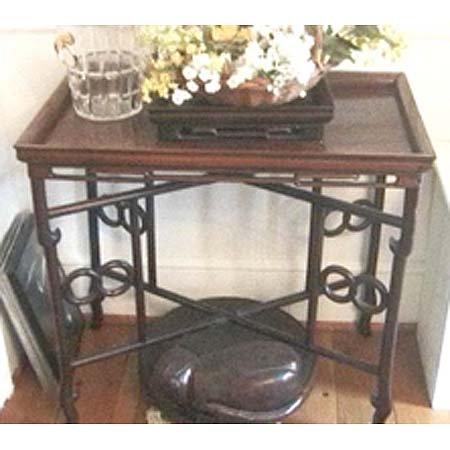 4: Chinese hardwood tea table