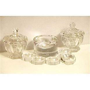 Group Baccarat crystal