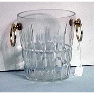 Cartier crystal ice bucket