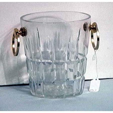 10: Cartier crystal ice bucket