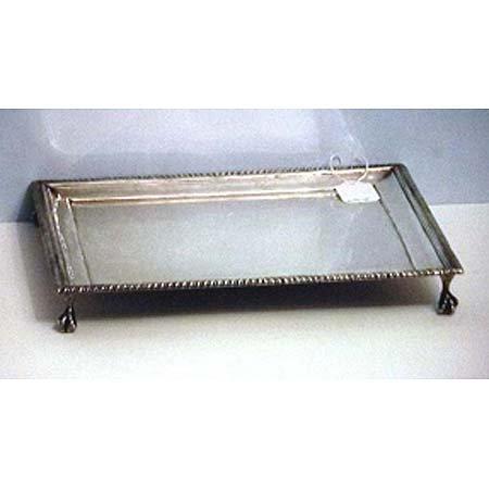 15: English silver tray
