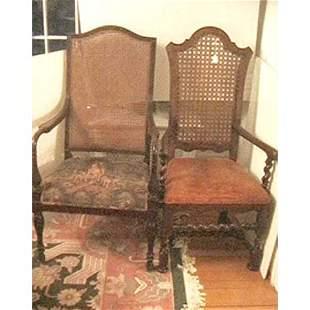 Baker Jacobean style armchair