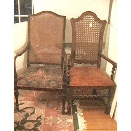 24: Baker Jacobean style armchair