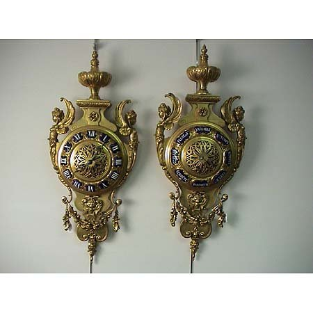 314D: French clock & barometer