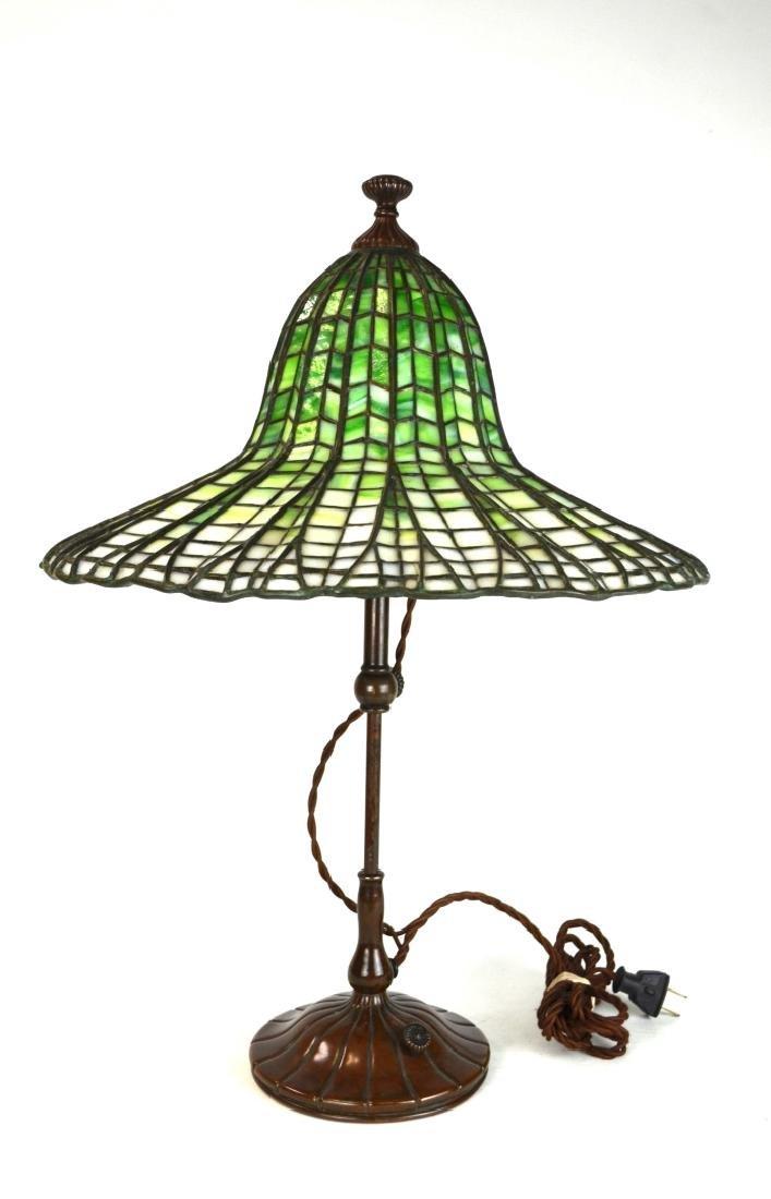 Important Tiffany Studios Lotus Table Lamp
