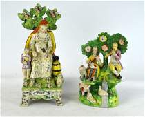 18th Cen. Staffordshire Group Figural Group