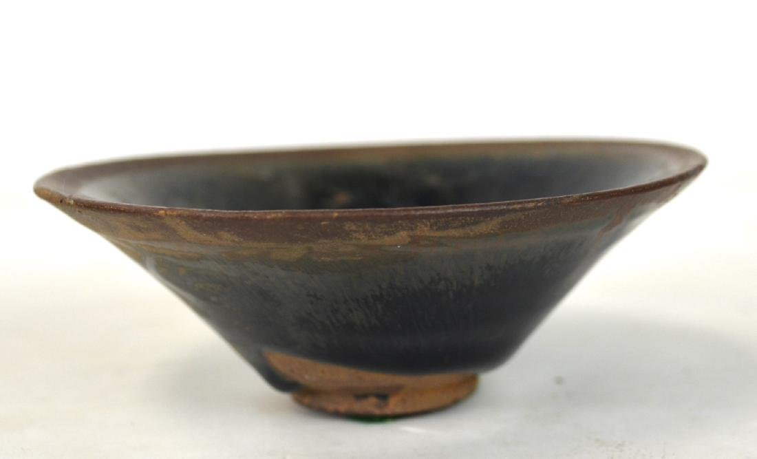 Chinese Tea Bowl w Black Glaze