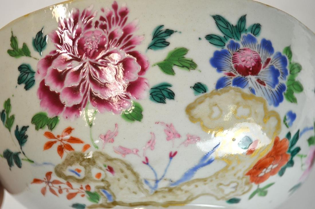 Chinese Famille Rose Bowl - 3