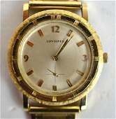 LONGINES 14 K Gold Watch