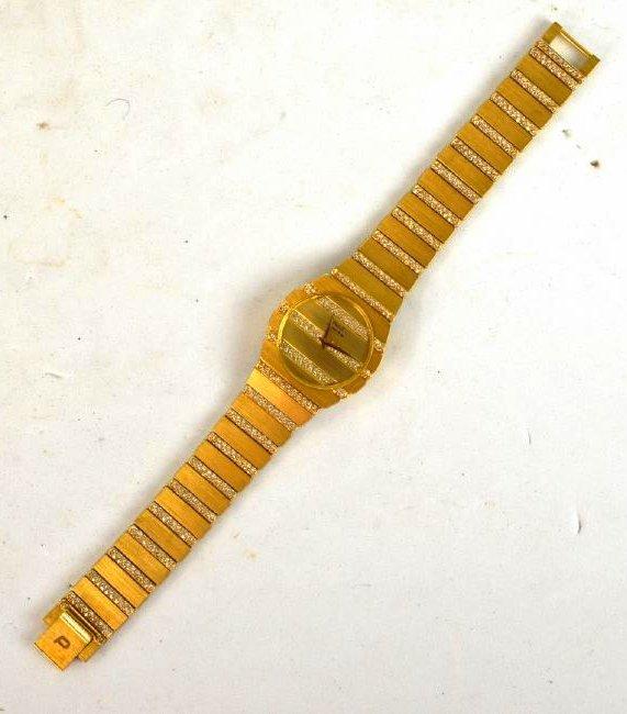 Piaget 18K Gold & Diamond  Lady Automatic Watch